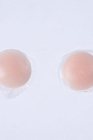 Cache téton rond en silicone transparent translucide