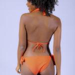 Maillot de bain femme 2 pièces orange Adama