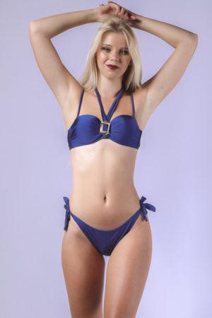 Maillot de bain femme 2 pièces bleu Blue Sky