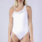 Maillot de bain femme 1 pièce blanc Eternel