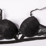 Soutien-gorge push-up noir avec armatures Spicy