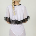 Ensemble lingerie fine Keyshia blanc et noir
